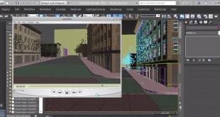 Kursus/Jasa Desain 3D Membuat Pemandangan Kota 3D dengan 3D Studio Max 2021