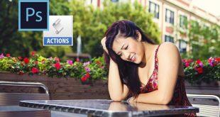Kursus/Jasa Photoshop | Photoshop Actions Untuk Fotografer (50 Actions + Samples)