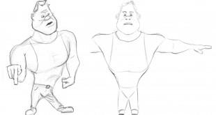 Kursus/Jasa 3D Studio Max Modeling Karakter