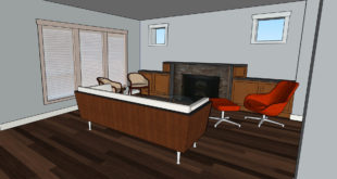 Kursus/Jasa Sketchup | SketchUp Modeling Interior Dari Foto