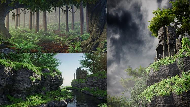 Kursus/Jasa Blender | Blender 2.79 Membuat Pemandangan Alam