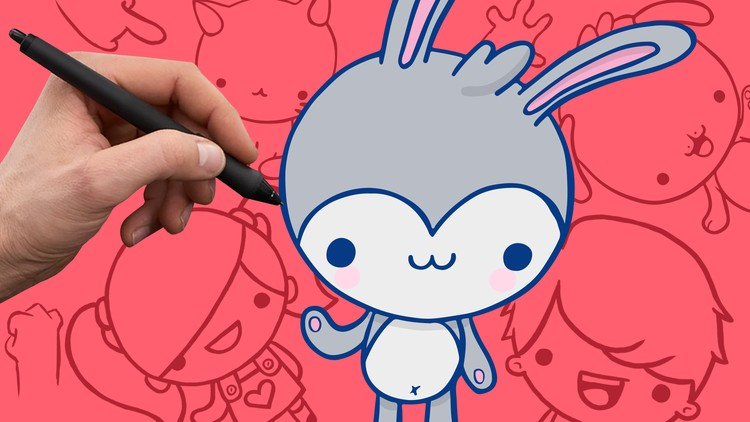 Kursus/Jasa Menggambar | Bagaimana Menggambar Karakter Kartun Yang Lucu
