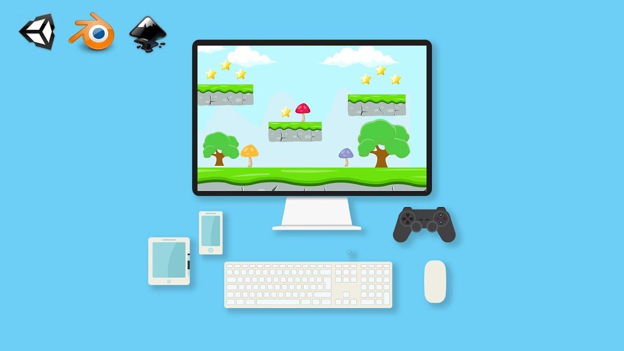 Kursus/Jasa Membuat Game Menggunakan Unity | Complete Game Design & Development : 20+ 2D & 3D Projects