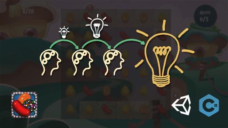 Jasa Pembuatan Aplikasi | Kursus Unity | Membuat Game Candy Crush Saga Menggunakan Unity (2020)