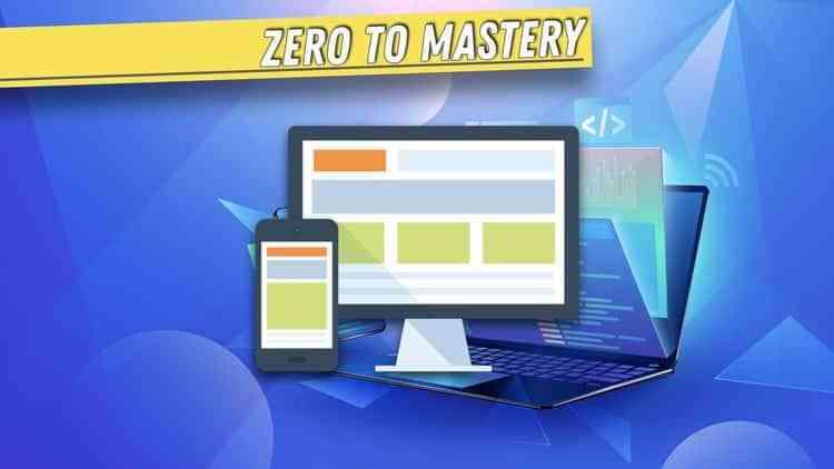 Jasa Pembuatan Aplikasi | Kursus Web | Complete Web Developer Zero to Mastery (2020)