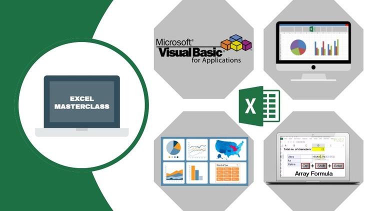 Kursus/Jasa Microsoft Excel – Complete Excel Course (Excel 2007 – 2019)