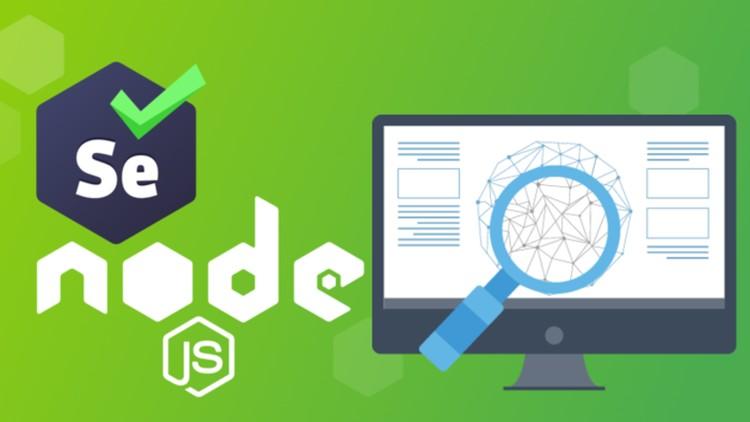 Kursus/Jasa Selenium & NodeJS | Complete Web Scraping Course Projects 2020