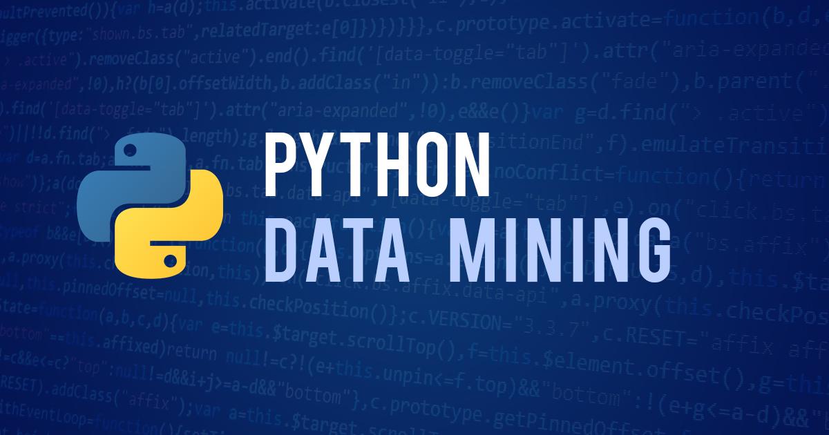 Kursus/Jasa Python   Data Mining Menggunakan Python