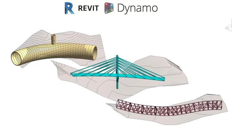 Kursus Privat Online Revit | Revit 2020 dan Dynamo 2.1 Membuat Bridges Roads dan Tunnels