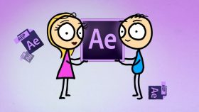 Pelatihan/Kursus After Effects | After Effects: Simple Character Animation & Motion Graphics