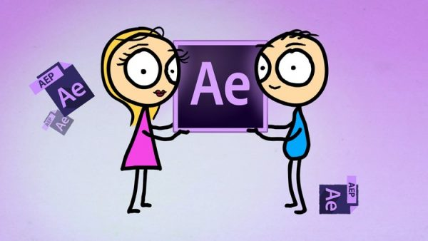 Jasa/Kursus After Effects   After Effects: Simple Character Animation & Motion Graphics