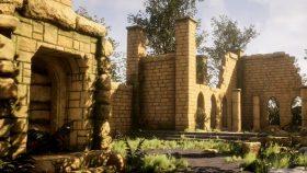 Kursus/Jasa Blender | Ancient Ruins 3D Game Environment Menggunakan Blender