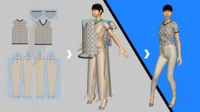 Kursus/Jasa Fashion Desain | Sketch 3D Menggunakan Marvelous Designer