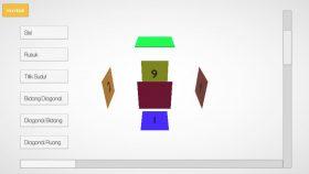 Hasil Karya Siswa | Kursus Unity 3D | Membuat Aplikasi Augmented Reality(AR) Bangun Ruang Menggunakan Unity 3D