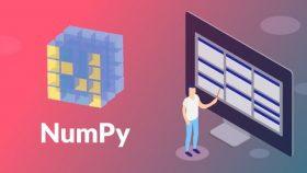 Pelatihan/Kursus Python | 100+ Latihan – Pemrograman Python – Ilmu Data – NumPy