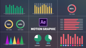 Pelatihan/Kursus After Effects | After Effects Infographics Animation | Motion Graphics