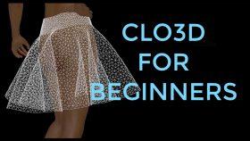 Kursus/Jasa Clo3D   Clo3D Untuk Fashion Desainer