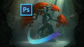 Pelatihan/Kursus Adobe Photoshop | Lanskap Digital: Melukis Lingkungan dengan Photoshop