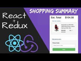 Pelatihan/Kursus React | React Redux Shopping Cart