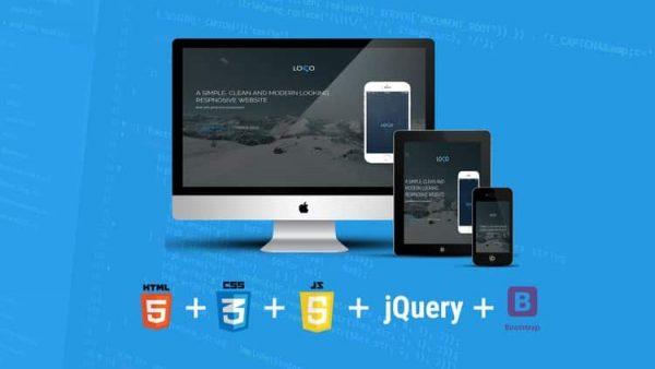 Kursus/Jasa Web   Build Responsive Website Menggunakan HTML5, CSS3, JS Dan Bootstrap