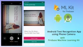 Kursus/Jasa Android   AI & Machine Learning Text Recognition (Android Studio)