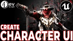 Kursus Unreal Engine | Unreal Engine: Character UI