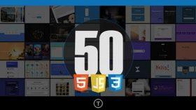 Kursus/Jasa Web | 50 Projects HTML, CSS & JavaScript