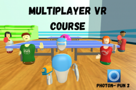 Kursus/Jasa Unity   Multiplayer Virtual Reality (VR) Development Unity