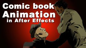 Kursus/Jasa After Effects   Adobe After Effects Comic Book Animation