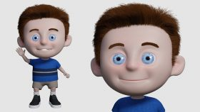 Kursus/Jasa Blender   Membuat Animasi Karakter Menggunakan Blender 2.9