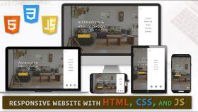 Kursus/Jasa Web Desain | Responsive Website Menggunakan Html CSS & Javascript