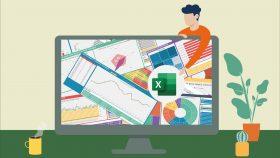Kursus/Jasa Pembuatan Aplikasi Excel | Excel & Visualisasi Data, Membuat Dasboard Yang Menarik