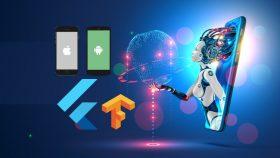 Kursus/Jasa Bimbingan Skripsi/Tesis/Disertasi Flutter | Flutter Artificial Intelligence Course – Build 15+ AI Apps