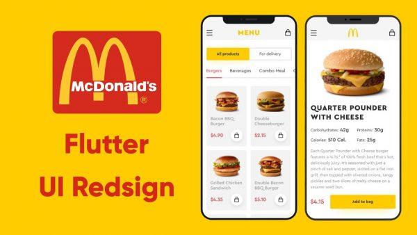 Kursus/Jasa Pembuatan Aplikasi Flutter | Flutter Hamburger App – Flutter UI – Google, Flutter & Dart
