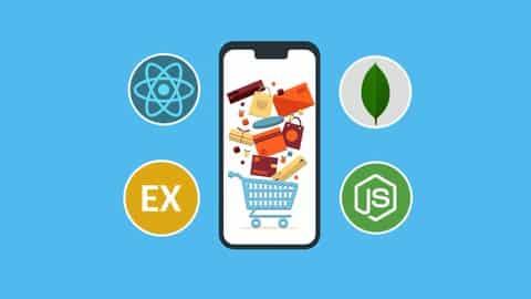 Kursus/Jasa Pembuatan Aplikasi React Native | MERN Stack E-Commerce Mobile App React Native