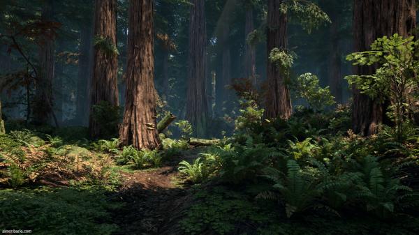 Kursus/Jasa Pembuatan Game | Realistic Game Environment Maya & Unreal Engine