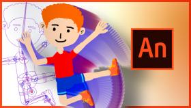 Kursus/Jasa Animasi Kartun | Rigging dan Animasi Karakter Kartun di Adobe Animate CC