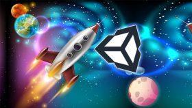 Kursus/Jasa Unity | Unity Space Shooter Game Development