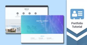 Kursus/Jasa  Web | Membuat Responsive Portfolio Website JavaScript Dan HTML