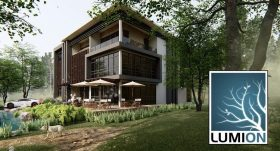 Kursus/Jasa Lumion | Lumion 11 – Beginner to Advanced Eksterior Design