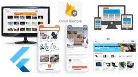 Kursus/Jasa Flutter   Bangun Aplikasi Flutter & Firebase OLX Clone Dengan Panel Admin 2021