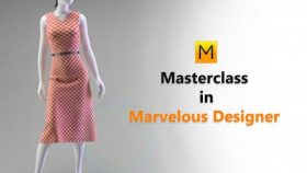 Kursus/Jasa Marvelous Designer | Masterclass Marvelous Designer