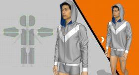 Kursus/Jasa Marvelous Designer | Desain Fashion: Membuat Jahitan Dan Ritsleting Di Marvelous Designer
