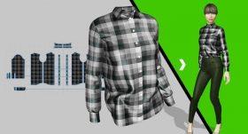 Kursus/Jasa Marvelous Designer | Desain Fashion: Membuat Desainer Kerah, Kancing Dan Manset Menggunakan Marvelous Designer