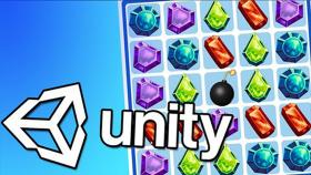 Kursus/Jasa Unity   Belajar Membuat Game Puzzle Match-3 Di Unity