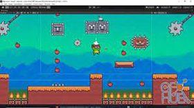 Kursus/Jasa Unity   Buat Game Aksi 2D Dengan Iklan Video Di Unity
