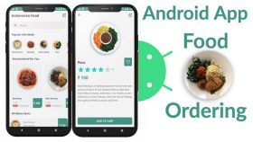 Kursus/Jasa Android   Aplikasi Pemesanan Makanan Android Studio